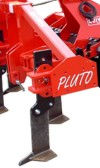 Pluto tines with shear bolt protection